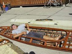Skinboat Journal: Wind-powered baidarkalounger