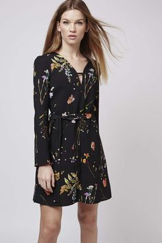 Botanical T-Bar Dress - Spring Campaign - Clothing - Topshop USA