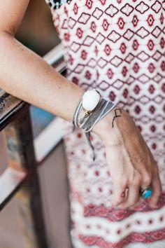Fall Fashion Jewelry Silk Wrap Bracelet by horsefeathersgifts