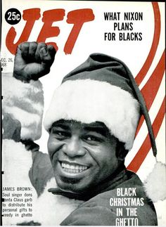 Jet, December 1968, featuring Black Christmas in the Ghetto with James Brown.
