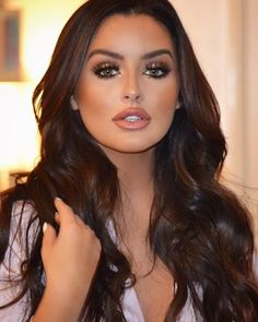 "leahdarcymakeup | Websta (Webstagram) Today's glam on this beauty @abigailratchford Wearing @lillylashes ""Miami"" 