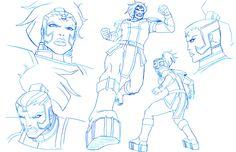 Lauren Montgomery, Female Furies, Superman, Batman, Love Lauren, Female Poses, Drawing Reference, Apocalypse, Concept Art
