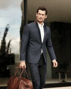 David Gandy Style - Marks & Spencer SS 2014 Advertising Campaign.