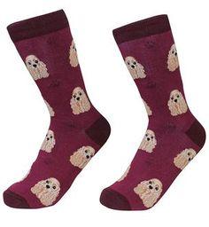 Life Is Too Short To Wear Boring Socks! Cocker Spaniel Breeds, Buy Socks, Novelty Socks, Crew Socks, Dog Breeds, Fashion Brands, Dog Lovers, Daddy, Unisex