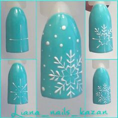 Here is a tutorial for an interesting Christmas nail art Silver glitter on a white background – a very elegant idea to welcome Christmas with style Decoration in a light garland for your Christmas nails Materials and tools needed: base… Continue Reading → Winter Nail Designs, Christmas Nail Designs, Toe Nail Designs, Winter Nail Art, Gel Nail Art, Nail Art Diy, Diy Nails, Cute Nails, Nail Art Ideas
