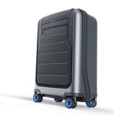 Bluesmart Smart Carry-On Luggage - http://luggagetrip.com/bluesmart-smart-carry-on-luggage/