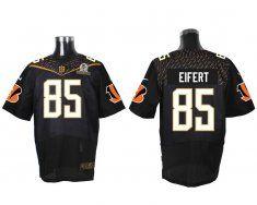 Nike Cincinnati Bengals #85 Tyler Eifert Black Elite Jersey | NFL ...