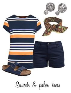 Untitled #520 by alliedrover on Polyvore featuring polyvore, fashion, style, Ted Baker, Barbour, Birkenstock and clothing