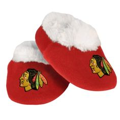 NHL Chicago Blackhawks Baby Bootie Slippers « Shoe Adds for your Closet