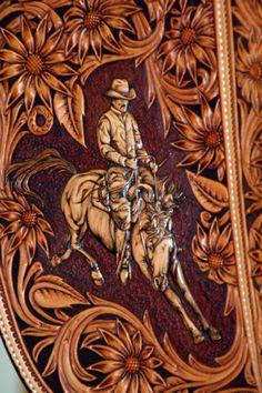 AMAZING Leather Artisan ~ Rick Bean