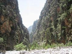 Montañas Lefka Ori - parque nacional Samaria - Creta, Grecia