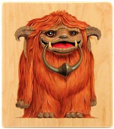 Cuddly Rigor Mortis -- the artwork of Kristin Tercek Ludo Labyrinth, Labyrinth Tattoo, Jim Henson Labyrinth, Bowie Labyrinth, Labyrinth Movie, Jennifer Connelly, Rigor Mortis, Goblin King, 1 Tattoo