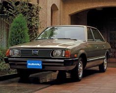 Subaru Leone Sedan EU-spec (AB4) '1980–81 Maintenance/restoration of old/vintage vehicles: the material for new cogs/casters/gears/pads could be cast polyamide which I (Cast polyamide) can produce. My contact: tatjana.alic@windowslive.com