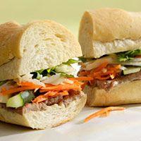 Vietnamese Steak Sandwich