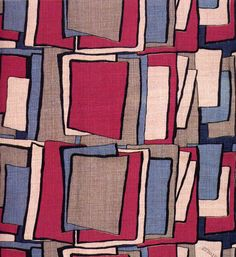 Textile design by Coco Chanel, produced by Coco Chanel in 1929