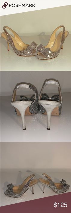 0168a90c913b Kate Spade Glitter heels Looking for wedding shoes  These beautiful Kate  spade heels will help