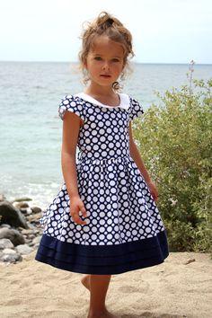 Isabel Garreton - Navy Dot Dress, $97.00 (http://isabelgarreton.com/spring-summer/navy-dot-dress/)