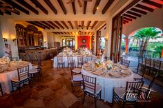 Cabo Beautiful Golf Course Wedding