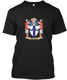 Mccall Coat Of Arms   Family Crest Black T-Shirt Front - This is the perfect gift for someone who loves Mccall. Thank you for visiting my page (Related terms: Mccall,Mccall coat of arms,Coat or Arms,Family Crest,Tartan,Mccall surname,Heraldry,Family Reunion,M ...)
