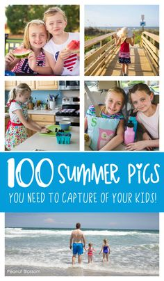 100 summer pictures you HAVE to take of your kids this year! Such a fun photography challenge for mom. These creative photo prompts are just perfect for completing the 100 days of summer photo challenge. Dslr Photography Tips, Photography Challenge, Amazing Photography, Iphone Photography, Urban Photography, Children Photography, White Photography, Family Photography, Summer Family Pictures
