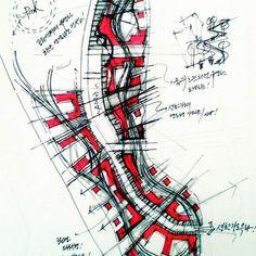 Light rhythm and rational unity … Throw it up Bs Environmental Design Group … Landscape Sketch, Landscape Concept, Landscape Plans, Paper Architecture, Landscape Architecture Design, Architecture Drawings, Street Marketing, Design Stand, Conceptual Sketches