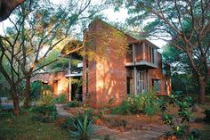Wall House, Auroville, India