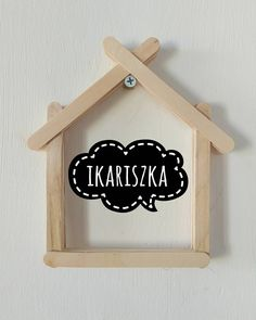 Bingkai Foto Dari Stik Es Krim Craft Stick Crafts, Felt Crafts, Diy And Crafts, Crafts For Kids, Popsicle Stick Diy, Hobbies To Try, Washi Tape Diy, Handmade Decorations, Diy Toys