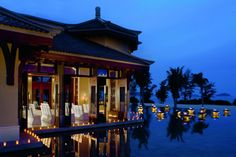 An exotic #wedding location at dusk in Sanya, #China: twitpic.com/89l7cr #FriFotos #RitzCarlton