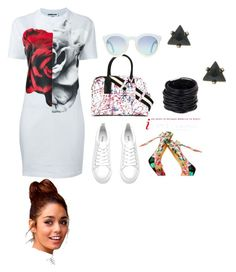"""""""teesafari"""" by rose-ganda on Polyvore featuring McQ by Alexander McQueen, Marc Jacobs and Saachi"""