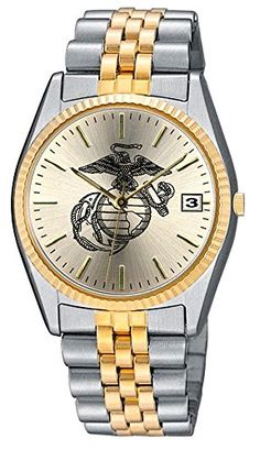 ab33dc43be2 Aqua Force Marines Emerge Watch with 38mm Gold Face     Be sure to check