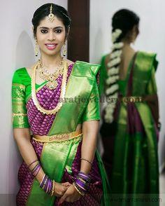 Bride in Multiple Rows Necklace