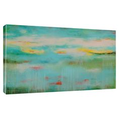 Great Big Canvas Tranquility by Erin Ashley Gallery Painting Print on Wrapped Canvas