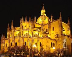 Catedral de Segóvia. # Segóvia, Espanha.
