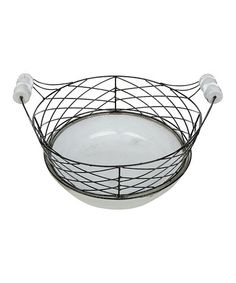 "Another great find on #zulily! 16.5"" Round Basket #zulilyfinds"