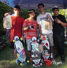 Longboarding: Designed for fast hills and faster slides, the Original Skateboards' Arbiter 36 longboard skateboard packs the podium in Puerto Rico.