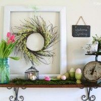 inspiration files--beautiful spring vignette from potentially beautiful