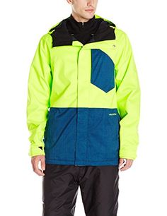 Volcom Men's Retrospec Insulated Jacket, Tennis Ball, X-Large ** Want additional info? Click on the image.