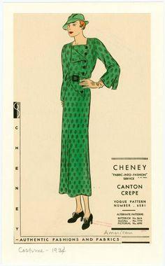 Long 1930s dress gallery