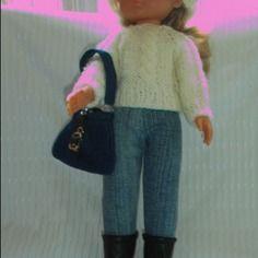 Tenue complète pour les chéries de corolle et autres poupées de 33 cm