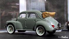 NEU: Renault 4 CV Cabriolet 1946-1961 grau - Soleure - tutti.ch