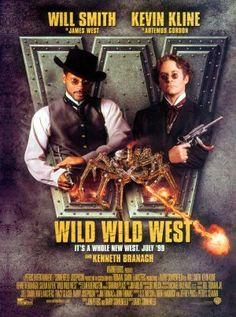 Wild Wild West - 1999 - Barry Sonnenfeld - Will Smith, Kevin Kline. Assez grotesque et totalement invraisemblable. La série mettait une dose de fantastique dans le western. Charmant. Ici c'est carrément Star Wars dans le Far West. N'importe quoi. Note: 3/10