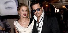 Amber Heard & Johnny Depp, January 10, 2015