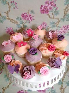 Vintage Style Cupcakes   #cupcakes #style! #Vintage