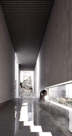 Imagen 4 de 13 de la galería de XLII, propuesta finalista en concurso de ideas para el nuevo balneario de la Fuente Santa / España. Cortesia de Equipo Finalista