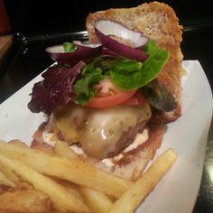 Pepper Jack burger