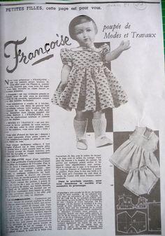 le vestiaire de francoise 1 - Poupées, couture et autre fil