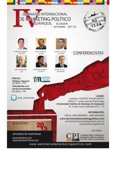 Preprando ponencia de Política 2.0 para Seminario Internacional en #GYE ( errores que no deberías subestimar )