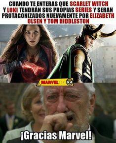 Mundo Marvel, Disney Marvel, Marvel Funny, Marvel Dc Comics, Marvel Avengers, Avengers Memes, Marvel Memes, Best Memes, Funny Memes