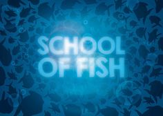 UW-W: School of Fish Trade Show Poster on Behance