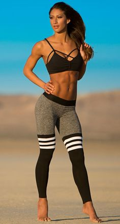 In love with this outfit. Also, fitness goals.